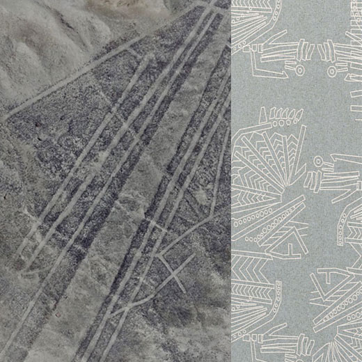 "facades of ""Geoglyphs"". who made them? when? what for?"